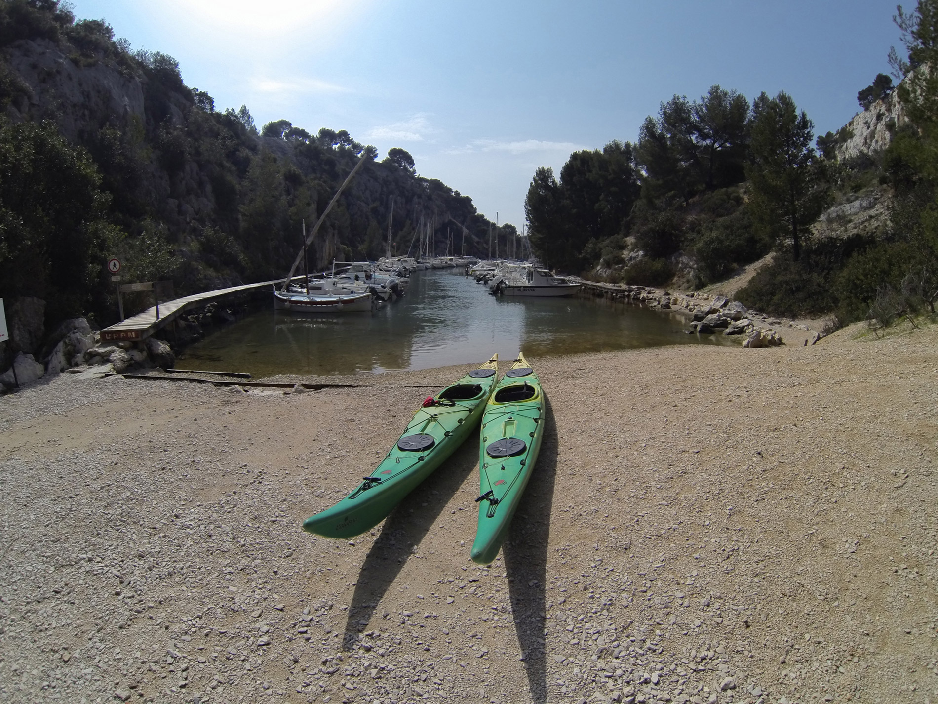 Calanque de Port Miou Calanc'O Kayak Paddle Cassis