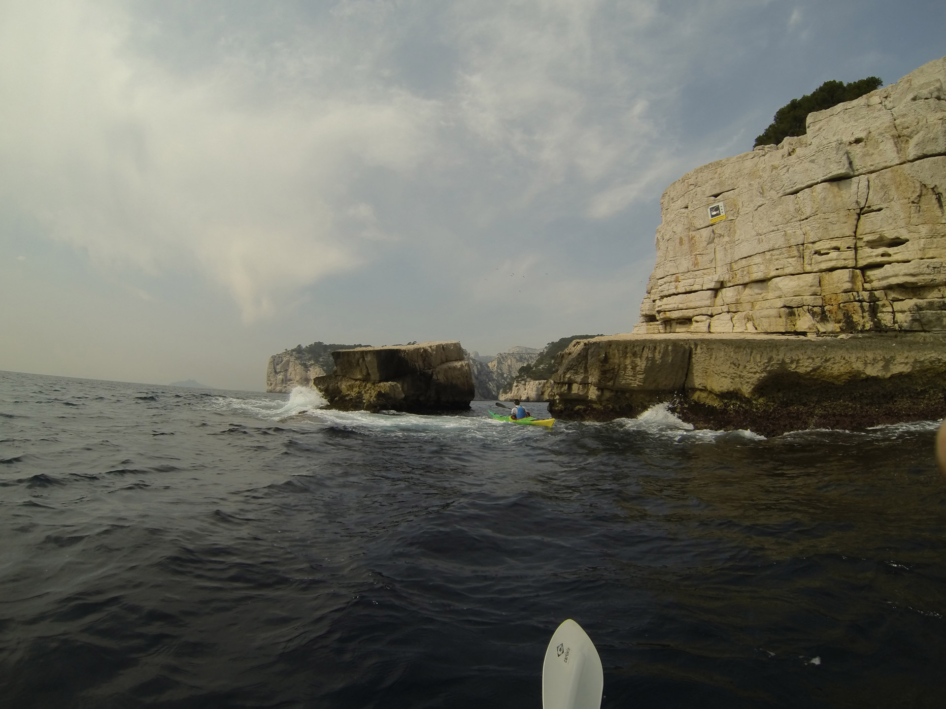 Pointe de la Cacau Calanc'O Kayak Paddle Cassis