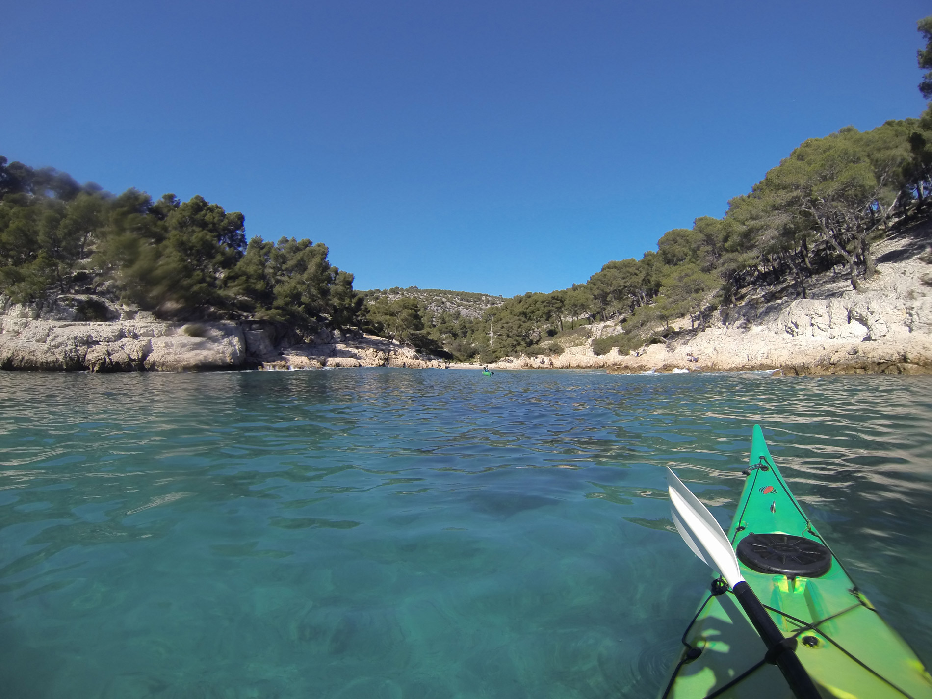 Calanque de Port Pin Calanc'O Kayak Paddle Cassis