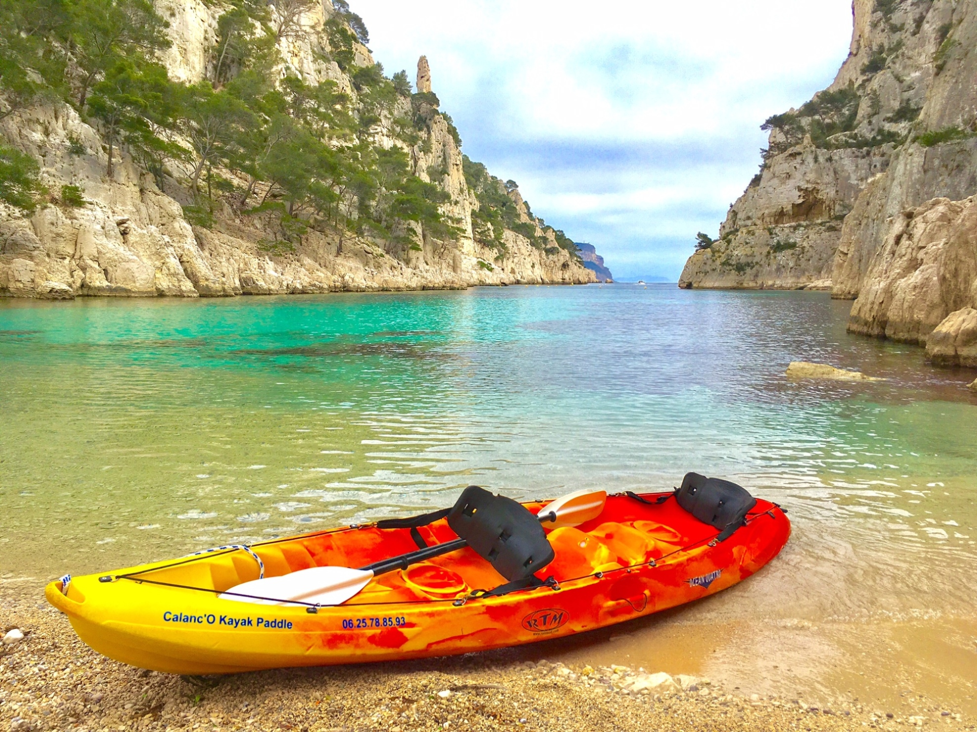 Kayak Sit On Top - Calanc'O Kayak Paddle Cassis