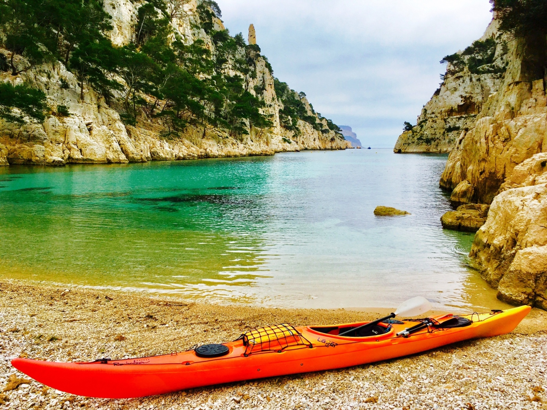 calanco kayak paddle kayak ponte