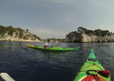 Calanque de Port Miou - Calanc'O Kayak Paddle Cassis