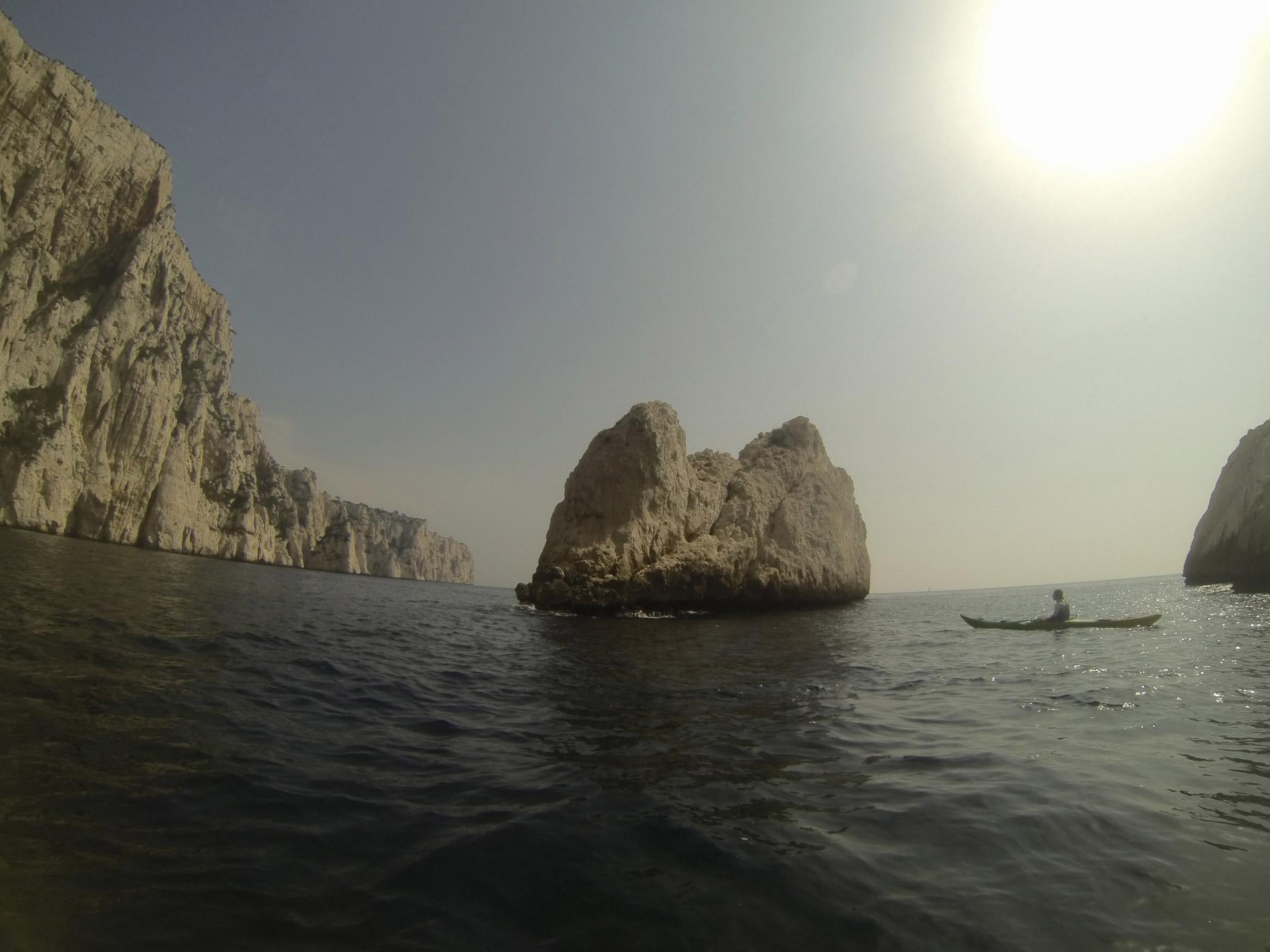 Calanque du Devenson Calanc'O Kayak Paddle Cassis