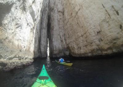 Faille de l'Eissadon - Calanc'O Kayak Paddle Cassis
