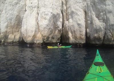 Grotte de l'Oule - Calanc'O Kayak Paddle Cassis
