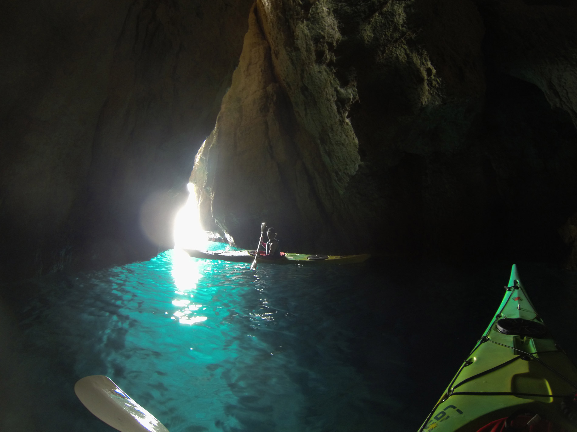 Grotte de l'Oule Calanc'O Kayak Paddle Cassis