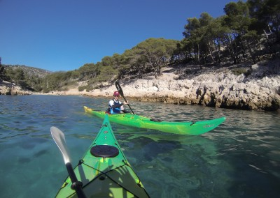 Calanque de Port Pin - Calanc'O Kayak Paddle Cassis