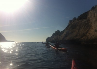 Calanque de Sormiou - Calanc'O Kayak Paddle Marseille