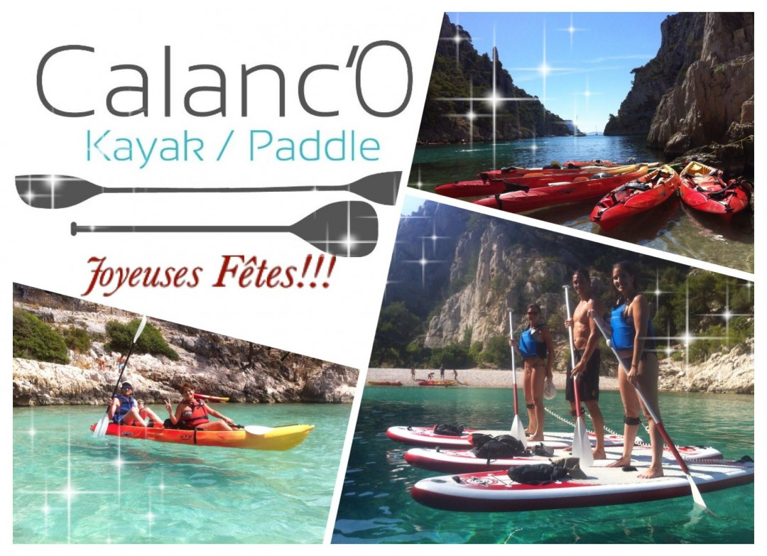 Calanc'O Kayak Paddle: Voeux 2016 !