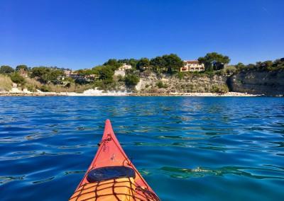 Anse du Corton - Calanc'O Kayak Paddle Cassis