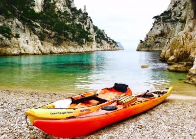 Calanque d'En Vau - Calanc'O Kayak Paddle Cassis