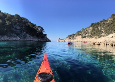 Calanque de Port Pin - Calanc'O Kayak Paddle Marseille