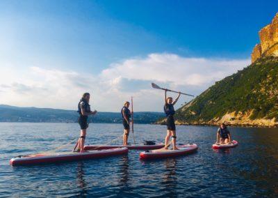 Cap Canaille et Falaises Soubeyranes - Stand Up Paddle Cassis calanques - Calanc'O Kayak Cassis